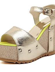 IPIEN Paillette Waterproof Slipsole Sandal (Gold)
