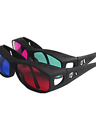 Reedoon Red Blue Side by Side 3D Glasses for Computer