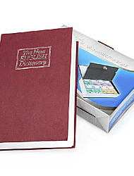"9.3""x6.2""Book Shaped Safe Box"