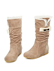 Women's Wedge Heel Snow Boots Mid-Calf Boots (More Colors)
