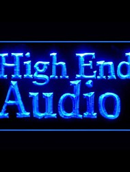 High End Audio Advertising LED Light Sign