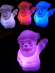 Chirstmas Santa Claus Colorful LED Nightlight Holiday Products