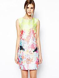 Queen & Co Süße Sommerkleid Kleid ärmellos Jacquard