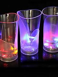 coway o bar dedicado emissor de luz noturna levou vaso de vidro