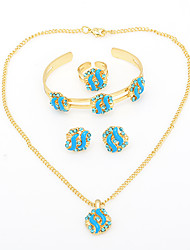 WesternRain Gold-plated  children's Jewelry Set