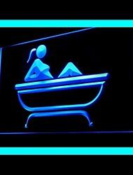 duche de vapor publicidade banho levou sinal de luz