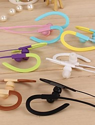 KIDA KD-166 Ears Hanging Stereo Music/Mic Earphone In-Ear Earphone for All Smartphone