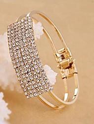 Diamante torção Pulseira da Sorte Boneca Mulheres