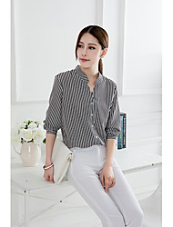 Women's Tops & Blouses , Chiffon Casual intherway