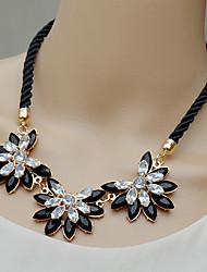 moda siyun estilos férias high end girassol em forma de colar curto de strass