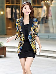 Women's Slim Printing Suit