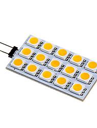 4W G4 LED Doppel-Pin Leuchten 15 SMD 5050 140-160 lm Warmes Weiß / Kühles Weiß DC 12 V
