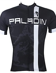 PALADIN® Cycling Jersey Men's Short Sleeve Bike Breathable / Quick Dry / Ultraviolet Resistant Jersey / Tops 100% PolyesterStripe /