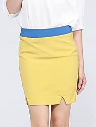 Mulheres LILIANGEL ™ Charme OL Negócios desgaste Sexy Magro Pencil Skirt