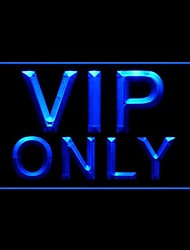 VIP Only Advertising LED Light Sign