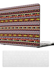 Bohemian Style PC Hard Case with Keyboard Cover Skin for MacBook Retina