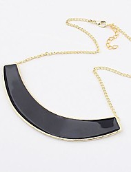 Women'S Western Exaggerated Half-surved Mental Drop Hot Products Necklace