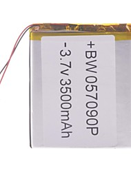 "Universal Replacement 3.7V 3500mAh  Li-polymer Battery for 7~10"" Macbook Samsung Acer Sony Apple Tablet PC (5*70*90)"
