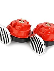 Universal Dual Band Frequency Car Snail Speaker 12V  2 PCS