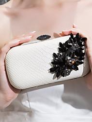 искусственной кожи вечерние сумочки / муфты больше цветов