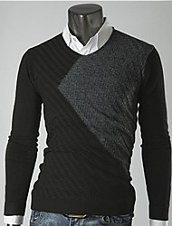 Männer Casual Fashion Strick Pullover