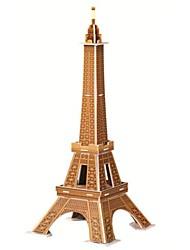 Puzzles 3D - Puzzle Bausteine DIY Spielzeug Berühmte Gebäude Papier Braun Model & Building Toy
