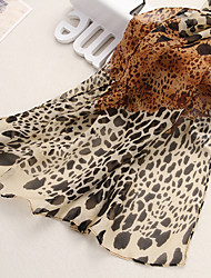 HOT Lady selling the leopard print  velvet chiffon scarf shawl