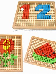 Children's Multi-functional Wooden Arts Puzzle Toys
