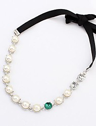 Pearl Gemstone Headband