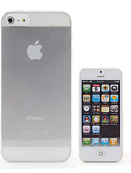 Carcasa de Cristal Transparente para iPhone 5