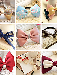 100 Pcs Bow Hair Bowknot Hairpin To Hand Direct Street Night Market Supply Hair Accessories