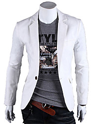 Men's Coats & Jackets , Cotton Blend Casual HF