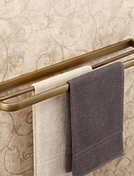 Towel Bar Antique Brass Wall Mounted 57*11cm(22.5*5.2inch) Brass Antique