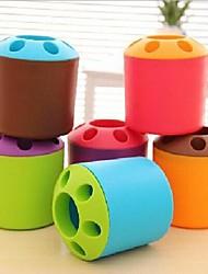 Красочный и Прекрасный держатель для зубных щеток (разных цветов)