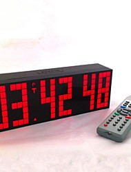 Kosda Chihai® Digital Large Big Jumbo LED Alarm Clock Remote Control Countdown Countup Timer Snooze