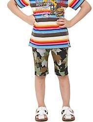 Shorts camo Jungen verlässt Druck beach wear Kids Shorts Streudruck