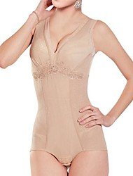 Women's Deep V Open Crotch Thin Shapewear