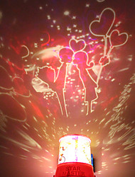 DIY Bacio Romantico Luce Galaxy Starry Sky proiettore di notte a Celebrate Christmas Festival