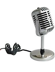 pc-058 professionale chat vocale kalaok cablata microfono palmare