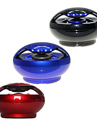 Handsfree Bluetooth Sphere Speaker Support MicroSDHC iPhone Laptop Tablet (Assorted Color)