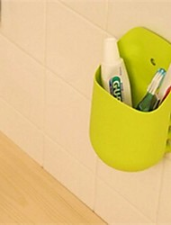 Kangaroo Toothbrush Holder,Eco-Friendly Plastic Organizer Kitchen Tool Random Color