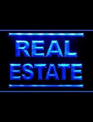 Real Estate Advertising LED Light Sign
