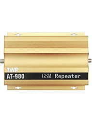 TWP AT980 500mW 900MHz 890 ~ ​​915MHZ / 935 ~ 960MHz téléphone GSM Cell Booster Amplificateur de signal - Golden