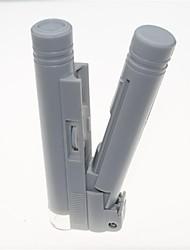 tragbare LED beleuchtet 40x Mikroskop mit Skala Kennzeichnung (2 x AA)