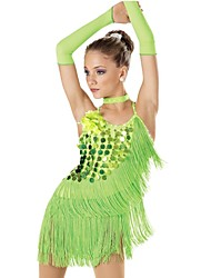 Jazz Performance Women's Sequin And Lycra Jazz/Latin Dance Dress (More Colors)
