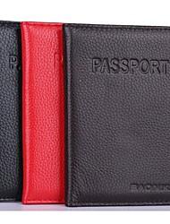 женщины& мужской подлинной кожаный мешок карты ID