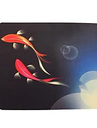 Qianjiatian ® Peixe Todo Ano Durable Mouse Pad