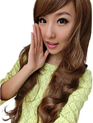 Girl Fashion Wavy Synthetic Side Bang Wigs