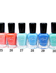 French Imports Makings Pro-environment Nail Polish NO.25-30(16ml,Assorted Color)