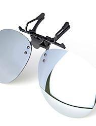 YidunB Man's Polarized Short Sight Driving Clamping Piece Sunglasses